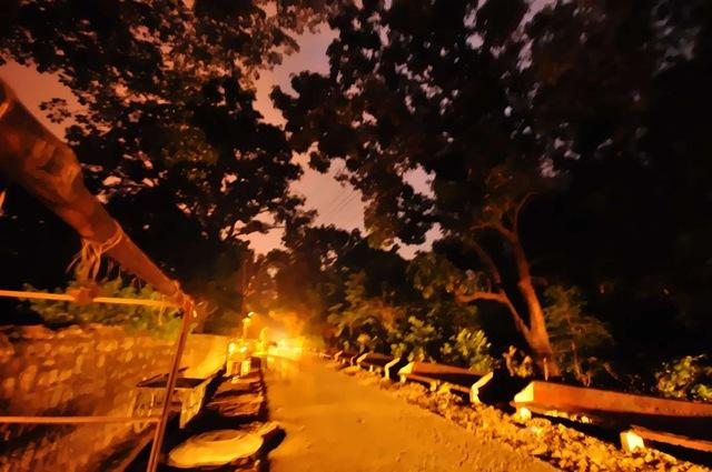 Nightwalk In Rishikesh