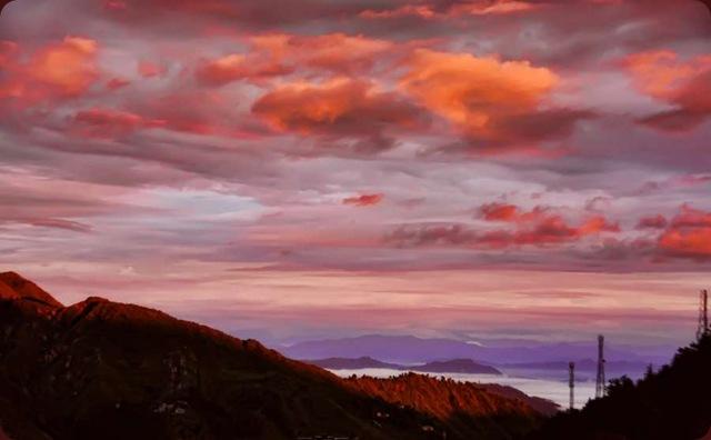 Sunset Over Dharamshala