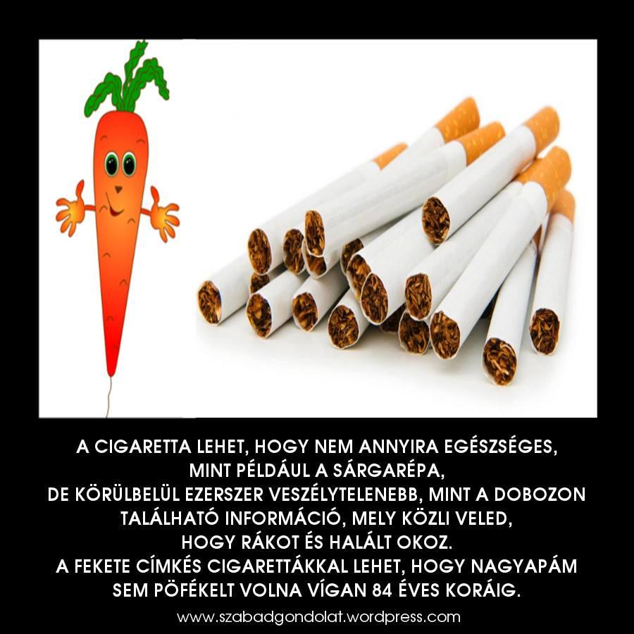 hogyan lehet becsapni egy cigarettával